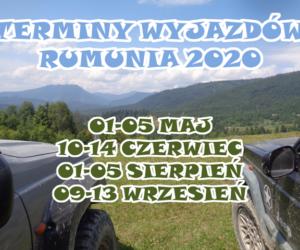 Terminy wyjazdów do Rumunii 2020.